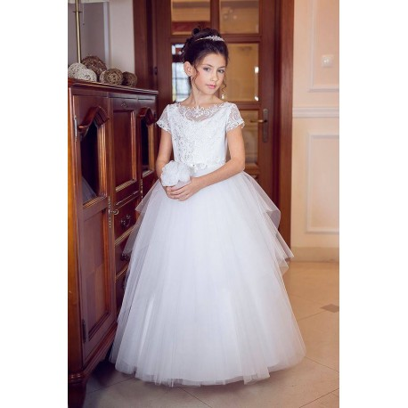 Handmade First Holy Communion Dress Style B04