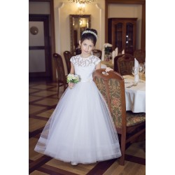 Beautiful Handmade First Holy Communion Dress Style B06