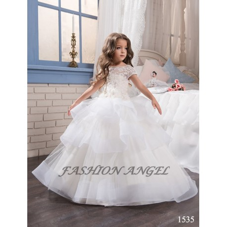 First Holy Communion Dress Style 16-1535