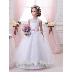 Lovely First Holy Communion Dress Style 14-1113
