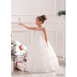 Lovely First Holy Communion Dress Style 14-666