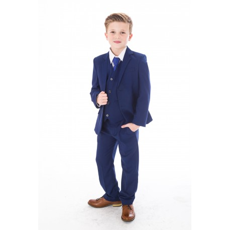 First Holy Communion/Special Occasion 5Pc Blue Suit Style ROCKY