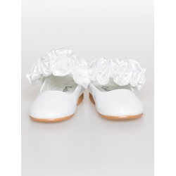 White First Holy Communion/Special Occasion Shoes Style 1719-116
