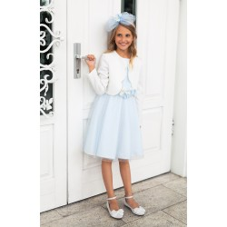 Blue Confirmation Dress 1D/SM/18