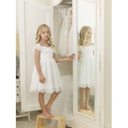 Paisley of London Ivory Confirmation/Special Occasion Dress Style NATALIA