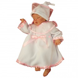 Winter Christening Set Orla Pink