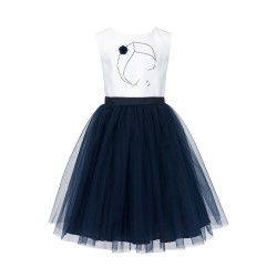 Navy&White Confirmation Dress 36/SM/18