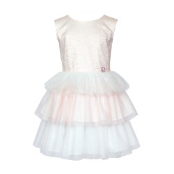 Ivory/Light Pink Confirmation Dress Style 13/SM/18