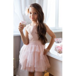 Gorgeous Light Pink Confirmation/Special Occasion Dress Style 7/SM/17