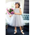 Light Grey Confirmation/Special Occasion Dress Style 1B/J/17