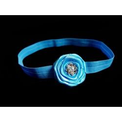 Blue Handmade Special Occasion Headband Style 316