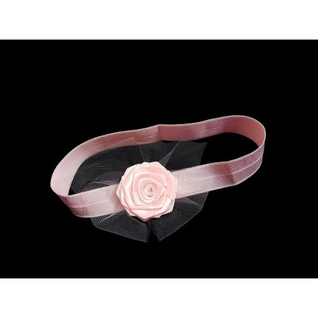 Pink Christening/Special Occasion Headband Style 180