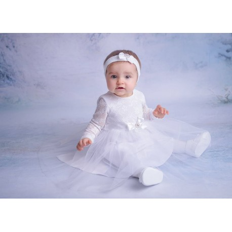 White Christening/Special Occasion Dress Style BLANCA