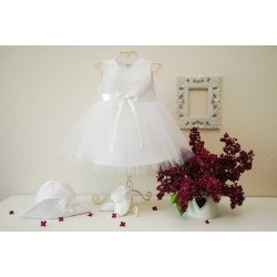White Christening/Special Occasion Dress Style NIKA