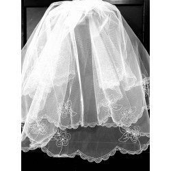 First Holy Communion Veil Style 2012