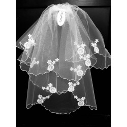 First Holy Communion Veil Style CV144