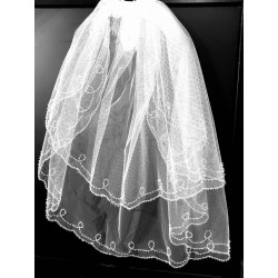 First Holy Communion Veil Style CV149