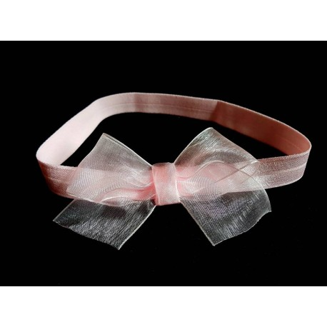 Pink Christening/Special Occasion Headband Style 186