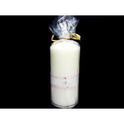 Hand Painted Baptism Candle Model CHAP2
