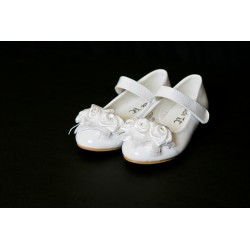 White First Holy Communion Shoes Style 609B