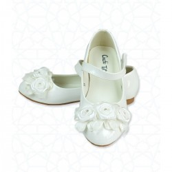 Ivory Special Occasion Leather Shoes Style 609