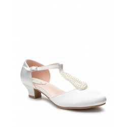 Ivory Special Occasion Shoes Style LILY