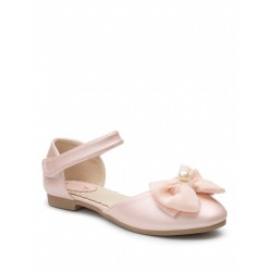 Pink Leather Special Occasion Shoes Style HEAHER