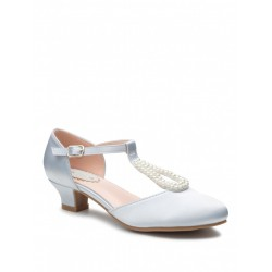 Duck Egg Blue Special Occasion Shoes Style LILY