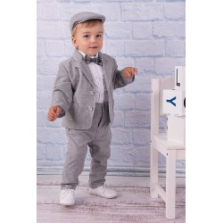 Grey Baby Boy Outfit Style A054