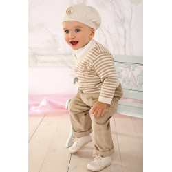 4 Pieces Nautical Boys Outfit Style YA007