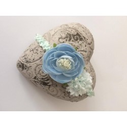Mint Baby Girl Christening/Special Occasion Headband Style SOPHIE
