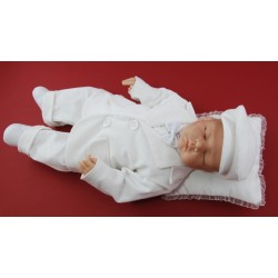 White Boys Corduroy Christening/Special Occasion Outfit Style TIMOTHY