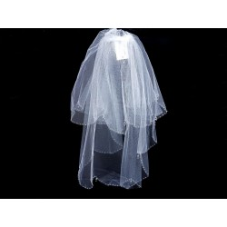 White Holy Communion Veil Style 2034
