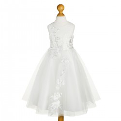 Sevva White Flower Girls/Special Occasion Dress Style LUCKY