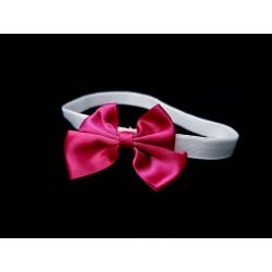 Handmade White/Pink Christening/Special Occasion Headband Style HEADBAND 07