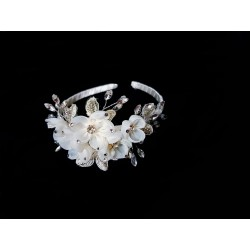 Ivory First Holy Communion/Special Occasion Headband Style HEADBAND 013