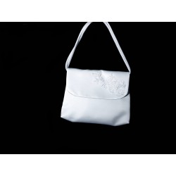 White Handmade First Holy Communion Handbag Style EMI 08