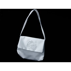 White Handmade First Holy Communion Handbag Style EMI 10