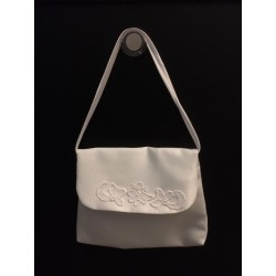 White Handmade First Holy Communion Handbag Style EMI 15