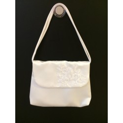White Handmade First Holy Communion Handbag Style EMI 17