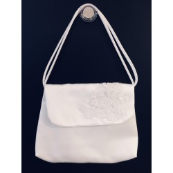 White Handmade First Holy Communion Handbag Style EMI 20