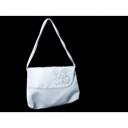White Handmade First Holy Communion Handbag Style EMI 21