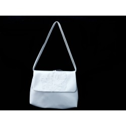 White Handmade First Holy Communion Handbag Style EMI 26