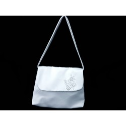 White Handmade First Holy Communion Handbag Style EMI 27