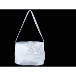 White Handmade First Holy Communion Handbag Style EMI 34