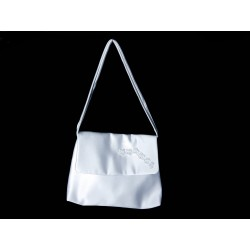 White Handmade First Holy Communion Handbag Style EMI 42