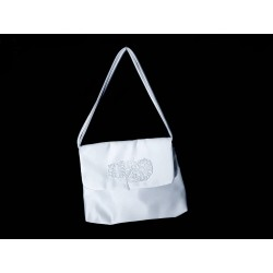 White Handmade First Holy Communion Handbag Style EMI 46