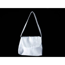 White Handmade First Holy Communion Handbag Style EMI 47