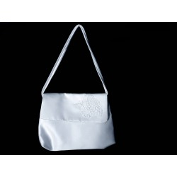 White Handmade First Holy Communion Handbag Style EMI 50