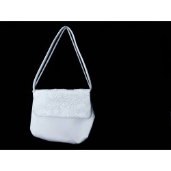 White Handmade First Holy Communion Handbag Style EMI 55